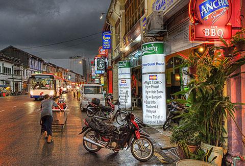 Chulia Street, in George Town, Penang