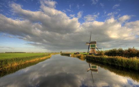 Zo is Nederland toch weer erg mooi