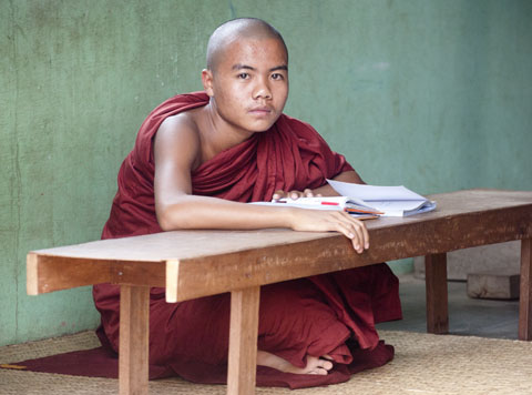 Nyaung Shwe, Birma, november 2012