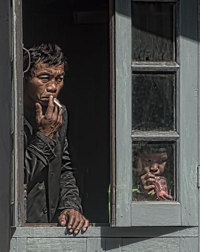 Ergens in de Shan-staat, Birma, november 2012