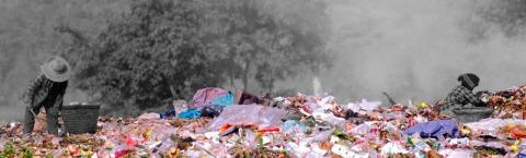 De kleurrijke wereld van hen die tussen het afval zoeken naar iets bruikbaars