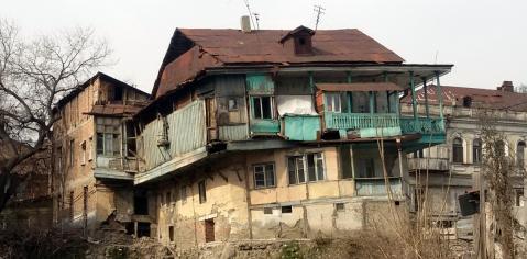Oud en nieuw: huizen in de oude binnenstad