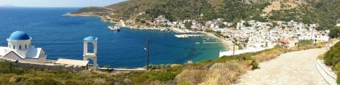 Fourni, een eiland in de Dodekanesos waar we steeds bleven terugkomen.