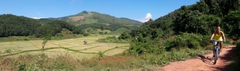 Bij Luang Nam Tha.